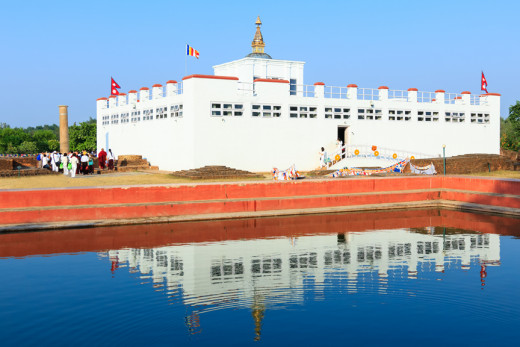Lumbini - The Birth Place of Lord Buddha.