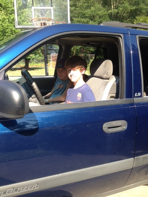 Our only grandchild for the past 14 years will soon have his driver's license