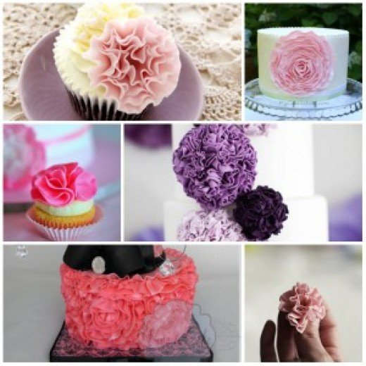 These ruffle flowers are beautiful!!!