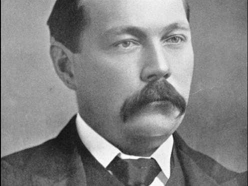 Inventor of Sherlock Holmes