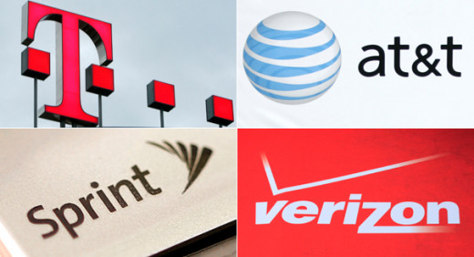 The Big 4 Wireless Companies