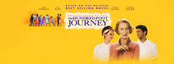 The Hundred-Foot Journey, a nice film to see before it leaves the theatre.