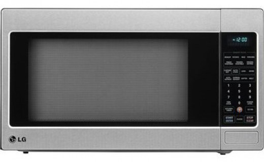 LG Full-Size Microwave with EZ Clean Oven