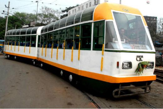 A Kolkata tram