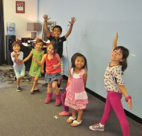 Youngest kids 3-2-1- Acting Class!