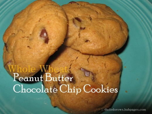 Whole wheat flour combined with coconut oil, honey and natural peanut butter create the perfect cookie combination!