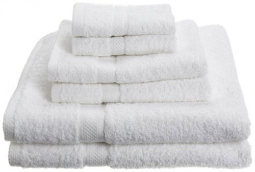 Never put wet or damp towels in hamper. It creates a breeding ground for germs and bacteria.