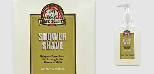 Brave Soldier Shower Shave