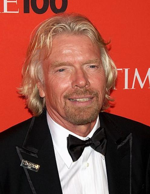 The billionaire business mogul is dyslexic.
