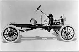 frame of car