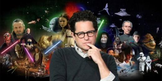 J.J. Abrams, director of Star Wars Episode VII