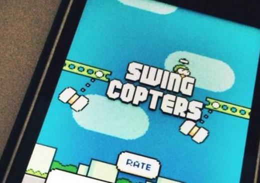 Swing Copters Phone