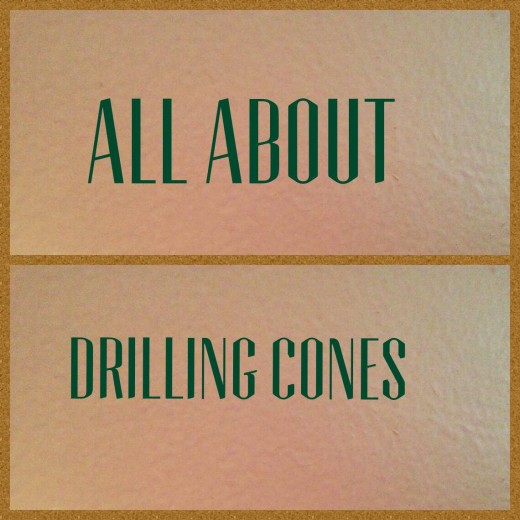 Learn to use drilling cones like the pros.