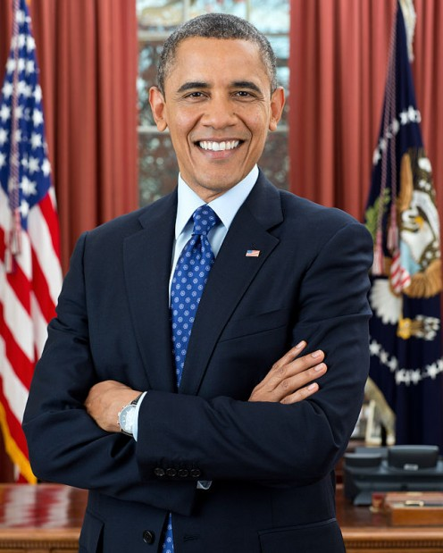 """President Barack Obama"" by Official White House Photo by Pete Souza - P120612PS-0463 (direct link). Licensed under Public domain via Wikimedia Commons - http://commons.wikimedia.org/wiki/File:President_Barack_Obama.jpg#mediaviewer/File:President_Bar"