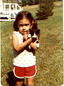 My first cat Tom I named after my fave cartoon