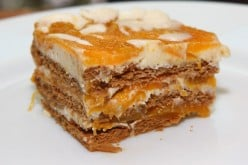 Delicious No-bake Dessert - Mango Float