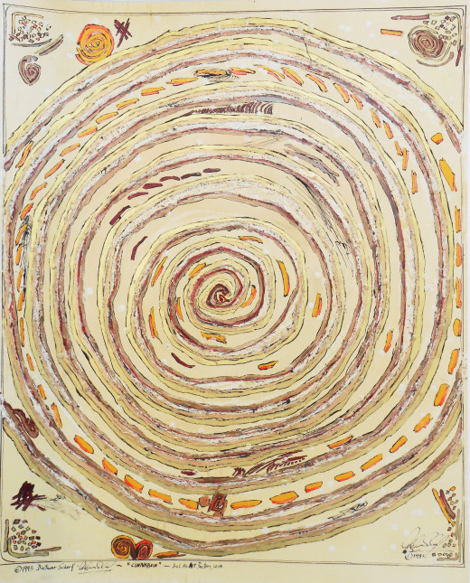 """Cinnabon"" (1993) by Dietmar Scherf"