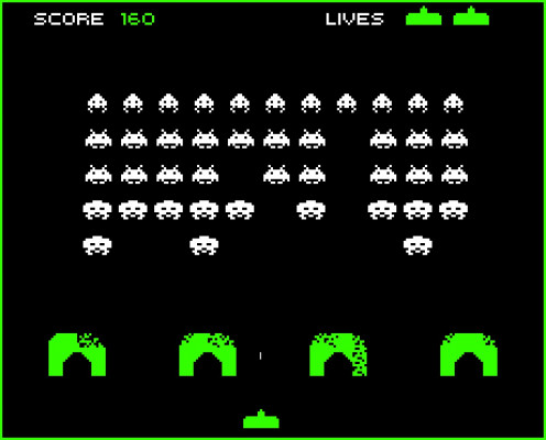 Space Invaders is one of the most popular video games of all time. It came out in Arcades and then it was ported to Atari home gaming consoles.