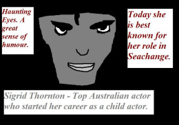 Sigrid Thornton.