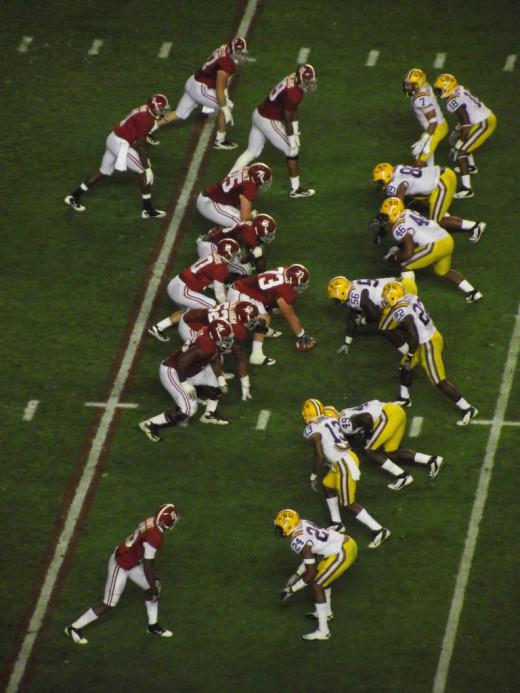 LSU vs Alabama:  Nov. 5th 2011
