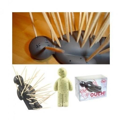 Toothpick holders cactus kipik wooden hedgehog - Wooden pocket toothpick holder ...