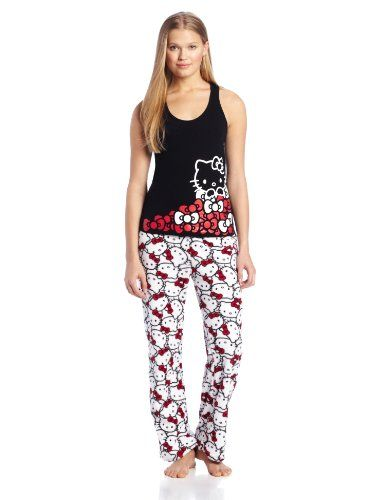 Hello Kitty Sweet Affection Juniors Pajama Set