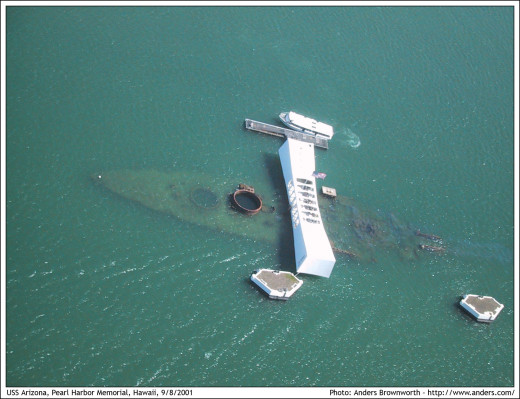 USS Arizona Pearl Harbor Memorial