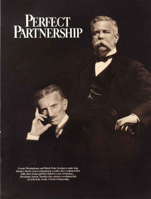 Perfect partnership between Tesla and George Westinghouse