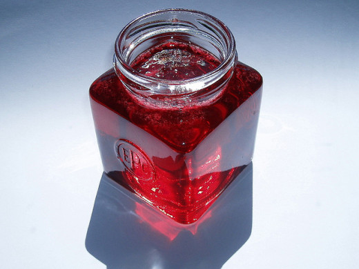 Beautiful redcurrant jelly