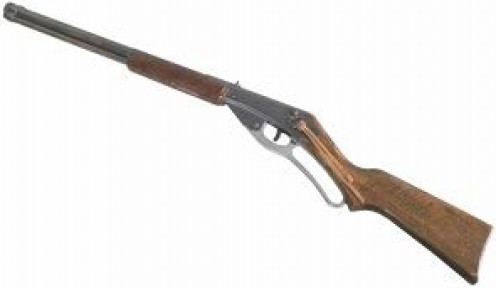 In the 1930s Daisy came out with the single pump Red Ryder BB Rifle.