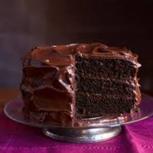 Chocolate cake is a delicious dessert and snack to eat but it is fattening.