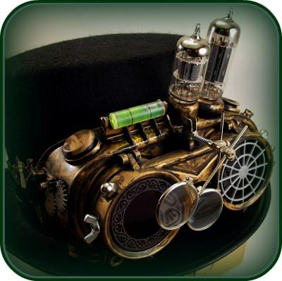 Fabulous Handmade Steampunk Goggles