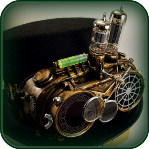 Fabulous Handmade Steampunk Goggles