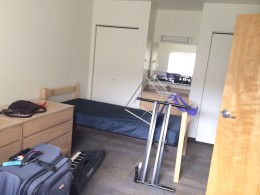 Welcome to dorm life; first step toward independence