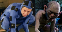 Andy Serkis as Gollum in the Lord of the Rings films