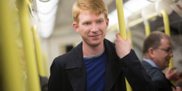 Domhnall Glesson in About Time