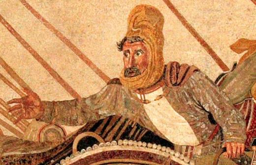Darius, powerless and overawed