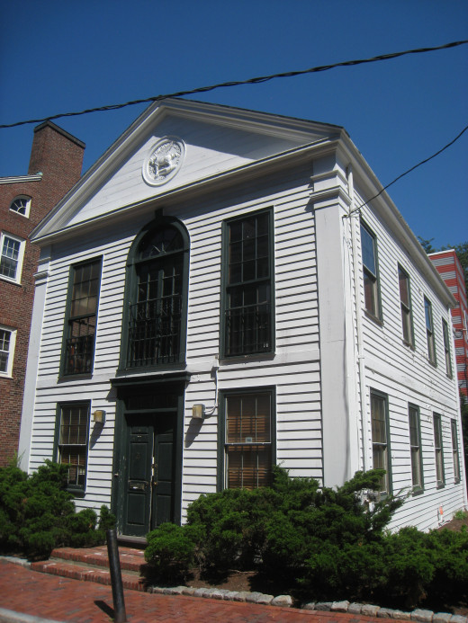 "The aim of the Harvard Advocate was to serve the reader ""As a springboard, not a shackle"". Here is the building where the origins of the magazine began."