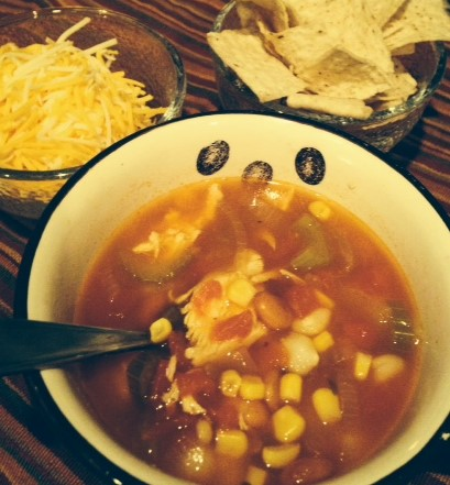 Tortilla Soup is hearty enough to be considered a meal!