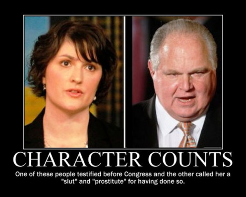 Limbaugh vs. Fluke