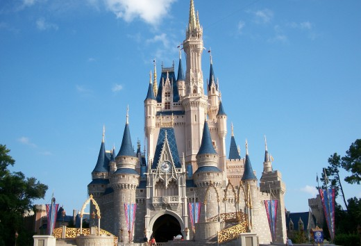 Cinderella's Castle, Walt Disney World, Orlando, FL