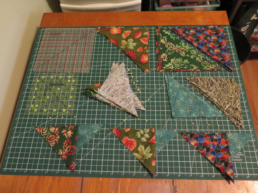 Quilt Patterns With Y Seams : Attic Windows Quilt Block Without Y Seams