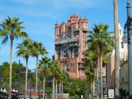 The Tower of Terror at Hollywood Studios. Brave the infamous elevator of the Hollywood Hotel, based on an episode of The Twilight Zone. I suggest you take the stairs...