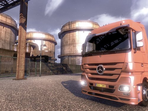 Euro Truck Simulator Screenshot