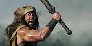 Dwayne Johnson says that he was born to play Hercules, the legendary hero who was the son of the gods.