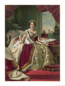 Queen Victoria Print