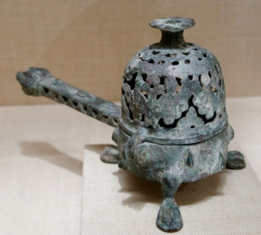 Incense burners can be as simple as a pot of soil or sand or highly decorative and ornate pieces of art.