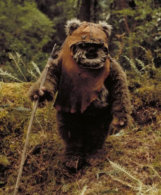 Your Teddy Bears carry spears?