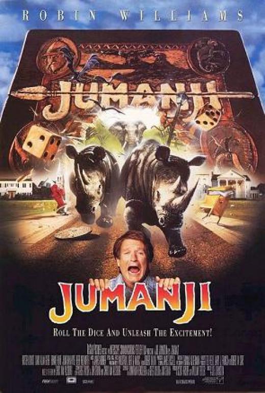 """""""Jumanji"""" Movie Poster"""