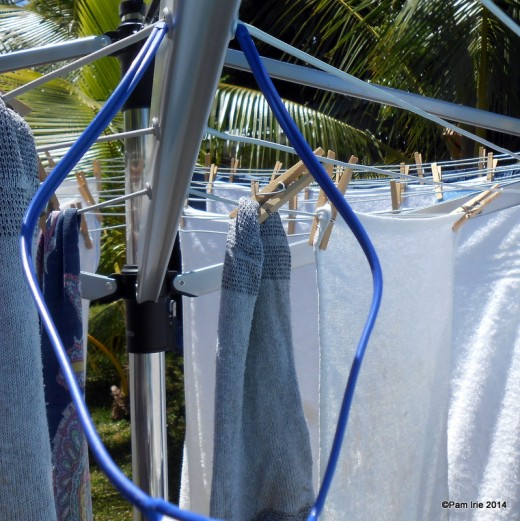 This rotary dryer is space-saving also for those with limited drying areas.